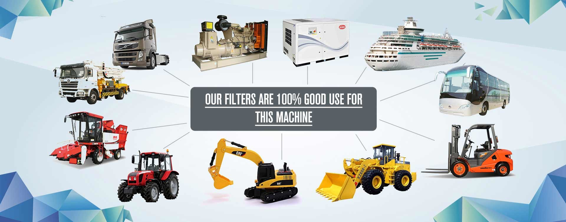 China best Excavator Air Filter on sales