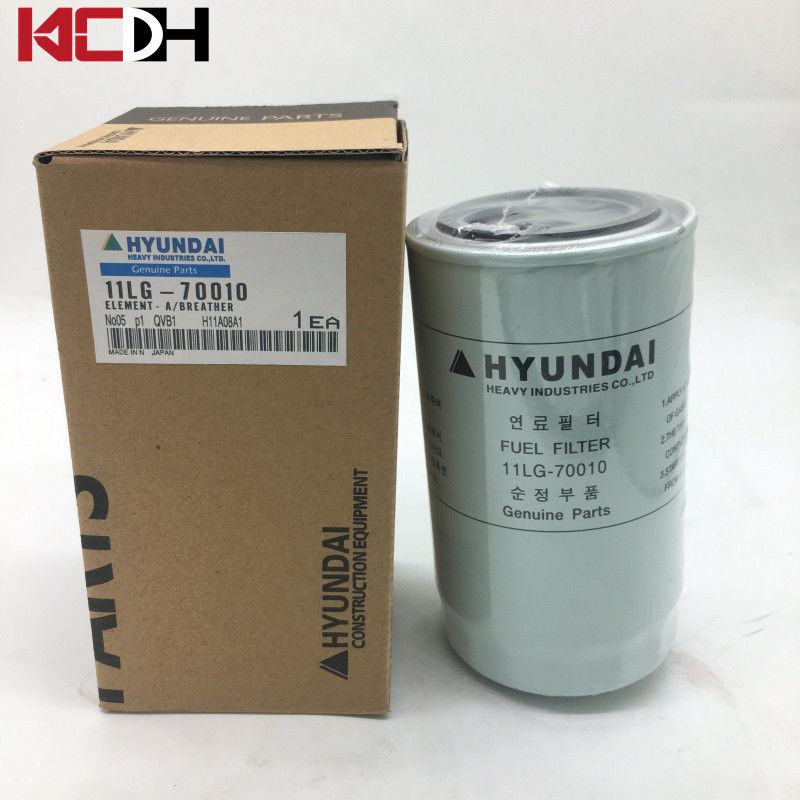 Hyundai Excavator Parts Diesel Engine Fuel Filter FF5612 11LG-70010